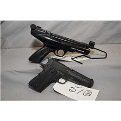 Lot of Two Items : Webley & Scott Model Hurrican .177 Cal Pellet Pistol Ser # 219306 DEEMED NON FIRE