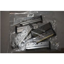 Bag Lot : Seven Kimber 1911 .10 MM Cal Mags