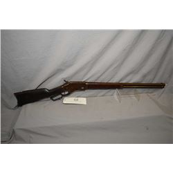 "Whitney Kennedy Model Standard Lever .44 Cal Lever Action Tube Fed Rifle w/ 24"" round barrel full ma"