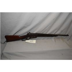 "Winchester Model 1895 .303 Brit Cal Lever Action Saddle Ring Carbine w/ 22"" bbl [ fading blue finish"