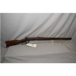 "Winchester Model 1894 .38 - 55 Cal Lever Action Rifle w/ 26"" round barrel full mag [ fading patchy b"