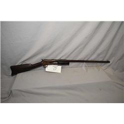 "Colt Model Lightning Medium Frame .44 Cal Pump Action Rifle w/ 26"" round barrel [ faded patchy blue"