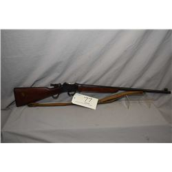 "B.S.A. Model Martini Action .22 Long Cal ONLY Martini Action Single Shot Target Rifle w/ 25"" bbl [ t"