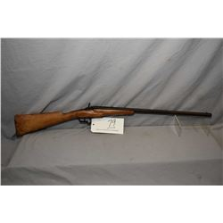 "Flobert ( Belgium) Model Rolling Block .22 Cal Single Shot Rifle w/ 22 1/2"" bbl [ faded blue finish"