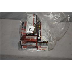 Bag Lot : Three Boxes ( 20 rnds per ) Hornady .10 MM Auto Cal 200 Grain Ammo - Two Boxes ( 20 rnds p