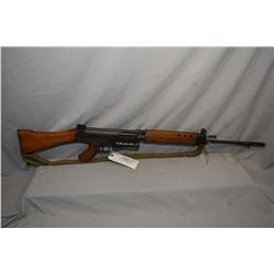 Prohib 12 - 5 FN FAL ( Lithgow ) Model L1A1 7.62 MM Nato Cal 5 Shot Mag Fed Semi Auto Rifle w/ 533 m