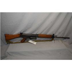 Prohib 12 - 5 FN FAL ( Lithgow ) Model L1A1 7.62 MM Nato Cal 5 Shot Mag Fed Semi Auto Rifle w/ 533 m