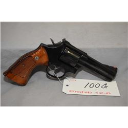 Prohib 12 - 6 Smith & Wesson Model 586 .357 Mag Cal 6 Shot Revolver w/ 102 mm bbl [ blued finish, va