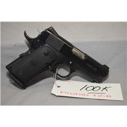 Prohib 12 - 6 Para Ordnance Model P12 - 45 .45 Auto Cal 10 Shot Semi Auto Pistol w/ 89 mm bbl [ blue