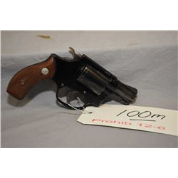 Prohib 12 -6 Smith & Wesson Model 37 Airweight .38 Spec Cal 5 Shot Revolver w/ 51 mm bbl [ blued fin