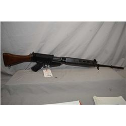Prohib 12 - 5 F.N. FAL Model FAL 7.62 MM Nato Cal 5 Shot Mag Fed Semi Auto Rifle w/ 533 mm bbl [ blu