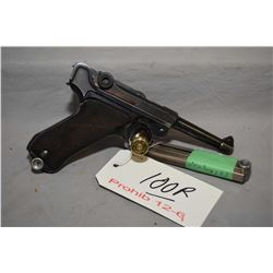 Prohib 12 - 6 - Luger ( BYF ) Model P08 Dated 1941 .9 MM Luger Cal 8 Shot Semi Auto Pistol w/ 102 mm
