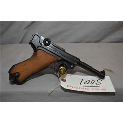 Prohib 12 - 6 Luger ( DWM ) Dated 1917 .9 MM Luger Cal 8 Shot Semi Auto Pistol w/ 102 mm bbl [ appea
