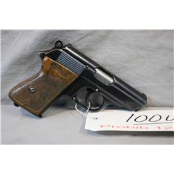 Prohib 12 - 6 Walther Model PPK .9 MM Browning Short Cal 6 Shot Semi Auto Pistol w/ 83 mm bbl [ blue