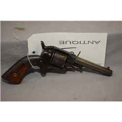"Antique - Ethan Allen Model Side Hammer .32 Rimfire Cal 6 Shot Revolver w/ 4"" octagon bbl [ blued fi"
