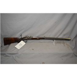 Antique - Kuchenreuter ( in Regensburg ) Model Bolt Action Side Hammer Percussion Rifle .11 MM Kuche