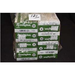 Bag Lot : Eight Boxes ( 50 rnd per ) Rem .45 Auto Cal 230 Grain Ammo Retail $ 31.99