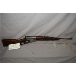 "Winchester 1895, .30-40 ( .30 Army) calibre, lever action saddle ring carbine w/ 22"" bbl. [flat cut"