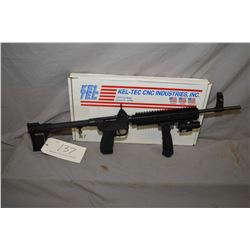 "Kel Tec Sub-2000 mag fed 9mm, semi automatic folding rifle w/18 1/2"" bbl. [ fitted with after market"