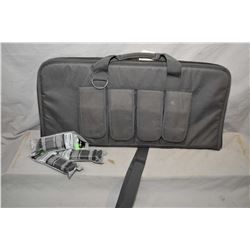 Soft case with side pouches and three brand new P Mag 17, 9mm magazines, all the fit previous lot