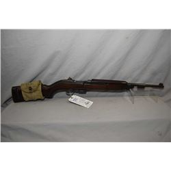 Restricted U.S. Carbine ( By Winchester ) Model M 1 Carbine .30 Carbine Cal 5 Shot Mag Fed Semi Auto