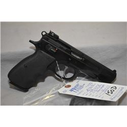 Restricted CZ Model CZ 75 B .9 MM Luger Cal 10 Shot Semi Auto Pistol w/ 122 mm bbl [ blued finish, g