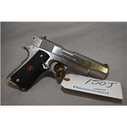 Restricted - Colt Model Delta Elite Goverment Model .10 MM Auto Cal 8 Shot Semi Auto Pistol w/ 127 m