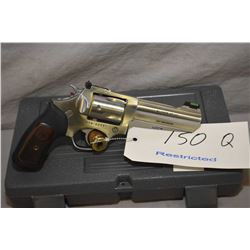 Restricted Ruger SP104, .357 mag cal. 5 shot double action revolver w/107mm bbl. [stainless steel, s