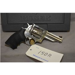 Restricted Ruger Redhawk .44 mag. cal, 6 shot double action revolver w/ 107 mm bbl. [ stainless stee
