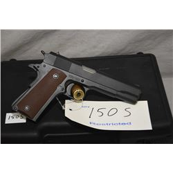 Restricted AIC Regent 911-A1, .45 ACP cal. 7 shot semi-automatic pistol, w/129mm bbl. [ blued finish