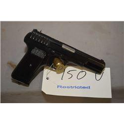 Restricted Tokarev TT33, .7.62mm, 8 shot semi-automatic pistol w/ 115mm bbl. [blued finish, light sc