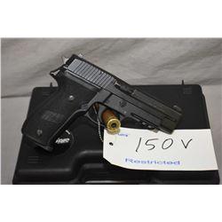 Restricted Sig Sauer P226, .9mm, 10 shot semi automatic pistol, w/112mm bbl. [ blue finish, minor ha