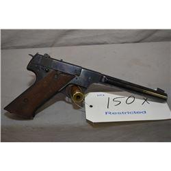 Restricted Hi-Standard model HD Military, .22LR, 10 shot semi automatic pistol, w/171 mm bbl. [blued