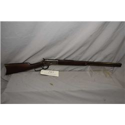 "Winchester Model 1892 .44 WCF Cal Lever Action Rifle w/ 24"" octagon bbl full mag [ fading blue finis"