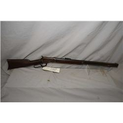 "Winchester Model 1892 .38 WCF Cal Lever Action Rifle w/ 24"" round bbl full mag [ fading blue finish"