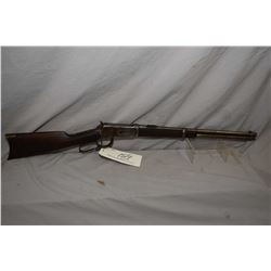 "Winchester Model 1894 .25 - 35 WCF Cal Lever Action Saddle Ring Carbine w/ 20"" bbl [ traces of faded"