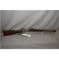 "Winchester Model 94 .30 WCF Cal Lever Action Saddle Ring Carbine w/ 20"" bbl [ blued finish faded to"
