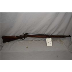 "Winchester Model 1885 Lo Wall .22 Short Cal Full Wood Target Rifle w/ 28"" bbl [ blued finish, traces"