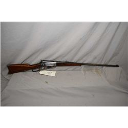 "Winchester Model 1895 .30 US Cal ( .30 - 40 Krag ? ) Lever Action Rifle w/ 28"" bbl [ fading blue fin"
