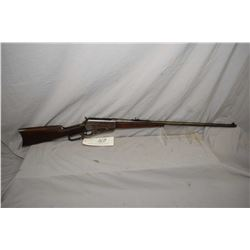 "Winchester Model 1895 .303 Brit Cal Lever Action Rifle w/ 28"" bbl [ fading blue finish turning brown"