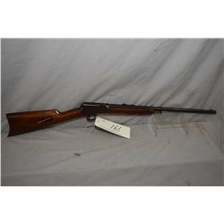 "Winchester Model 1903 .22 Win Auto Cal Tube Fed Semi Auto Rifle w/ 20"" bbl [ blued finish, turning b"