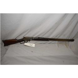 "Marlin Model 1893 .38 - 55 Cal Lever Action Rifle w/ 26"" rnd bbl full mag [ fading blue finish turni"