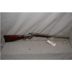 ANTIQUE Ballard ( Unknown Manufacturer ) Model Carbine .44 Rimfire Cal Single Shot Falling Block Car