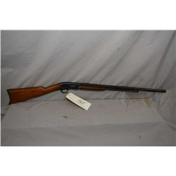 "Remington Model 12 C .22 LR Cal Tube Fed Pump Action Rifle w/ 24"" octagon bbl [ blued finish turning"
