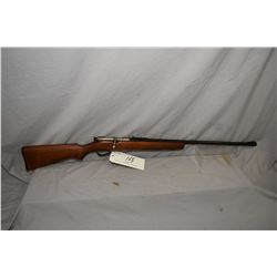 "Savage Model 3B .22 LR Cal Single Shot Bolt Action Rifle w/ 26"" bbl [ blued finish, starting to fade"