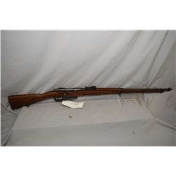 Mannlicher Carcano ( TERNI ) Model 1891 ? 6.5 x 52 Italian Cal Full Wood Military Bolt Action Rifle