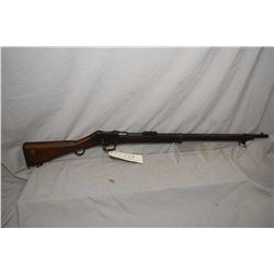 Martini ( SSA ) Model 1895 Mark III ( Stamped Citadel 1904 ) .303 Brit Cal Full Wood Military Rifle