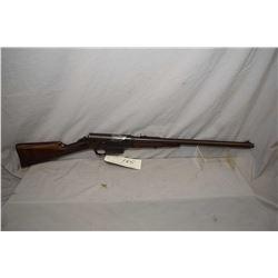 "Remington Model 8 .25 Rem Cal Semi Auto Rifle w/ 22"" bbl [ blued finish turned brown, barrel sights,"