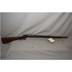 ANTIQUE - RARE Ballard by Brown Manufacturing Co. Model Military .46 Rimfire Cal ? Full Wood Militar
