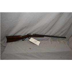 "Winchester Model 04 .22 LR Cal SIngle Shot Bolt Action Rifle w/ 21"" bbl [ blued finish, barrel sight"